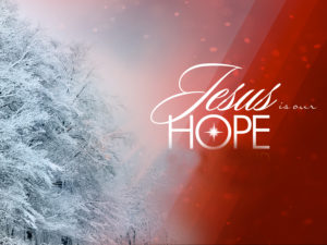 Jesus is our hope Graphic